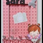 SCRAPBOOKING: MARCO PARA SARA