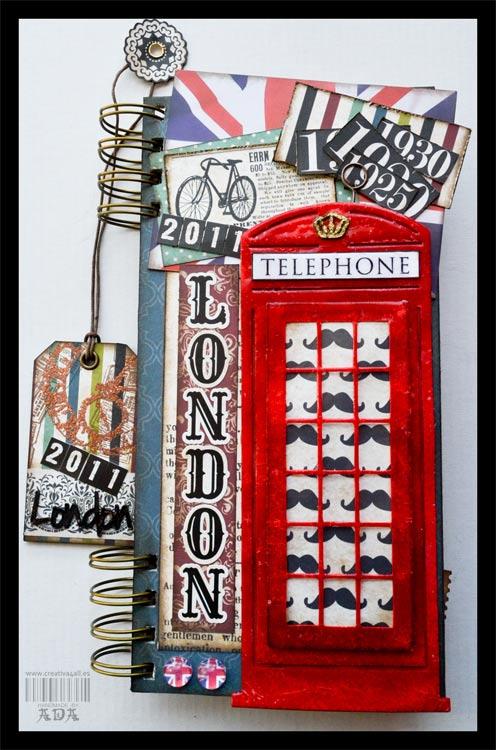 SCRAPBOOKING: TRAVELBOOK LONDON