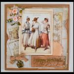 SCRAPBOOKING: VINTAGE CARD