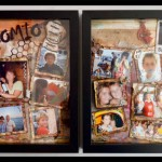 "SCRAPBOOKING: DOBLE LAYOUT ""EL MANICOMIO"""
