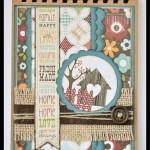 SCRAPBOOKING: LIBRETA FAMILY & DOG CARD