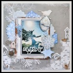 SCRAPBOOKING: LAYOUT WILD ABOUT WINTER
